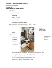 PHYS 1111L - Lab 2 Report .docx