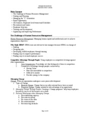HR Master Study Guide