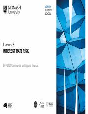 Lecture 6 - IR risk and Repricing model.pdf