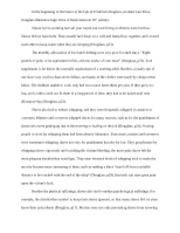 narrative of the life of frederick douglass usso prof g  9 pages research paper on narrative of the life of frederick douglass an american slave