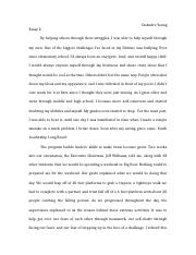 Backup of Essay 2