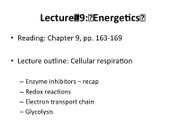 Lecture 9_Energetics_iClicker
