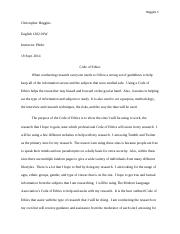 ENG 1302 - Writing Assignment 3
