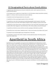 10 Geographical Facts about South Africa.docx