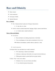 Lec 5 - Race and Ethnicity