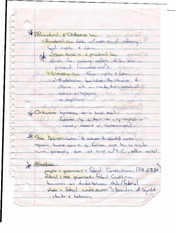 Procedural and Substantive Law Notes