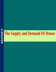 S5M. Money Supply and Demand.ppt