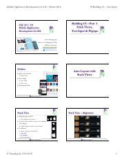 CSC 471 : Mobile Application Development for iOS - DePaul