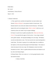 Roman notes teaching project