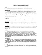 Format for Writing a Laboratory Report.docx