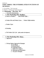 17 Marketing - Product&Price
