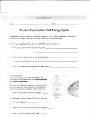 PhotosynthesisLabSE (1) - Name Date Student Exploration ...