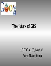 The future of GIS.ppt