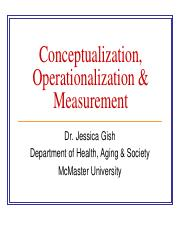 Lecture 7&8&9- Operationalization, Conceptualization & Measurement.pdf