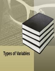 variable types.ppt