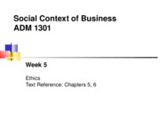Wk05_1301 Ethics (Ch.5,6)