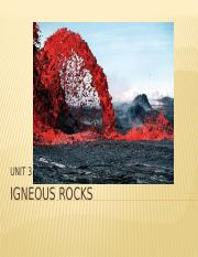 Chapter 3 - Igneous RX