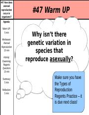 _47 Asexual Reproduction _ Cloning.ppt