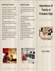 Families at FHS Brochure (1)