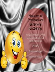 Measures of Emotional and Behavioral Functioning Presentation.pptx