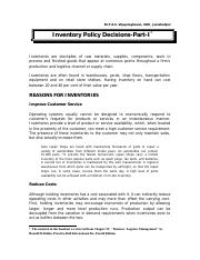 Inventory Policy Decisions.pdf