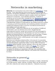 Networks in marketing.docx