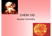 lecture 4 - nuclear chemistry