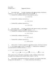 Problem Set _ 7 suggested solutions 2014