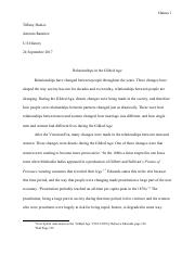 Essay Writing Examples English This Is The End Of The Preview Sign Up To Access The Rest Of The Document Expository Essay Thesis Statement Examples also Essays About Health Gilded Age Essaypdf  Haines  Tiffany Haines Antonio Ramirez Us  Examples Of Thesis Statements For Argumentative Essays