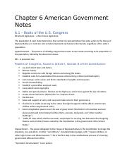 Chapter 6 American Government Notes.docx
