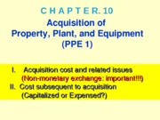 MGA301 Ch10-Lecture PPE1