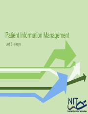 05 Patient Information System
