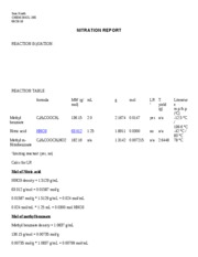 nitration report sk