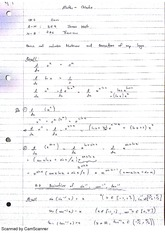 Derivatives of Inverse Sine, Cosine and Tangent Lecture Notes 8