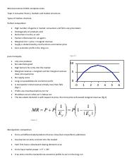 MICROECONOMICS EC201 COMPLETE NOTES Topic 3 - Copy