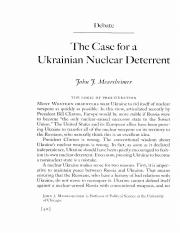 The Case for Nuclear Deterrent Mearsheimer.pdf