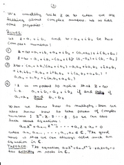 Complex Numbers 3