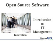Class 10 - Open Source Software(1)