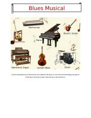 Blues Musical Instruments.docx