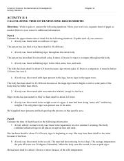 activity 11 1 estimating time of death answer key