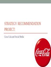 strategy project recommendation Journal of business strategy project management: key tool for implementing strategy andrew longman partner and director of marketing and product development at.