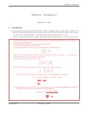 MSO4311 Solutions2 part 1