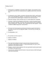 Reading Answers 8