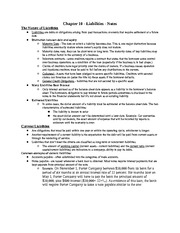 Acct Chap 10 notes