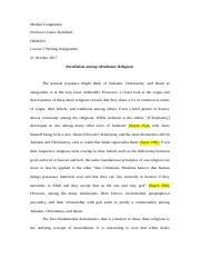 HUM201- Writing Assignment 2.docx