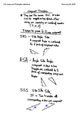 5.2 congruent triangles