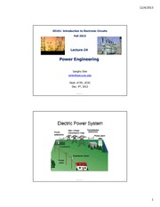 EE101-F13-Lect24-Power Engineering