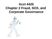 Acct 4420 Chapter 2 9th edition