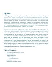 Egoism _ Internet Encyclopedia of Philosophy