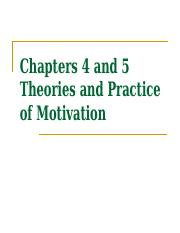 Chapter 4 and 5 Theory and Practice of Motivation.ppt